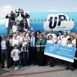 On Eve of Passover, 230 Ukranian Jews Leave Exile and Return to Israel