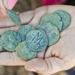 Byzantine Coin Cache Discovered in Excavations Near Jerusalem