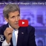 "Did John Kerry Lie When He Claimed Obama Deal Removed ""100%"" of All Chemical Weapons from Syria?"