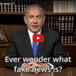 "Netanyahu Calls New Hamas Charter ""Fake News"" and Throws It Away"