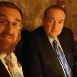 Governor Huckabee Signs Jerusalem Covenant With MK Yehudah Glick [WATCH]