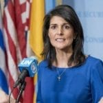 Nikki Haley: Western Wall 'Part of Israel,' US Embassy 'Should Be Moved to Jerusalem'