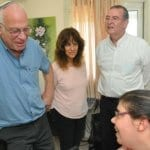 Israeli Minister Uri Ariel Visits State-of-the-Art MS Rehabilitation Center