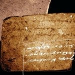 """Invisible"" Pottery Shard Reveals First Hidden Temple-Era Inscription"