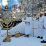 PHOTOS: Priests Reenact Temple First Fruits Offering, Paving Way for 'Greater Jerusalem'