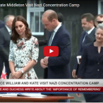 Prince William and Kate Middleton Visit Nazi Concentration Camp