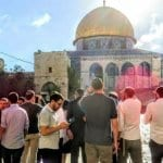 Jews Ascend Largely Arab-Free Temple Mount Before Tisha B'av