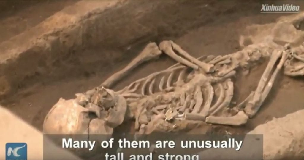 Giant Skeleton Remains Unearthed in China Point to Evidence