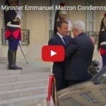 French Prime Minister Emmanuel Macron Condemns 'Israeli Colonialism'