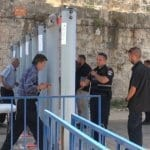 Security Minister: We're Not Backing Down on Temple Mount Checkpoints