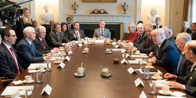 Bible Study Returns to White House as Trump Cabinet Members Attend Weekly Meetings