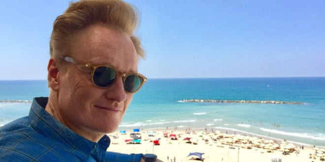 Conan O'Brien Jokes His Way Through Journey in Holy Land [WATCH]