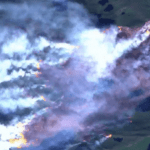 Bizarre Wildfire Visible From Space Rages on Ice Continent