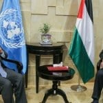 "In Gaza, UN Chief Guterres Calls for Peaceful Palestinian State ""Side-by-Side"" With Israel"