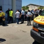 Israeli Man in Serious Condition After Supermarket Stabbing [VIDEO]