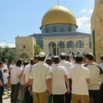 1,300 Jews on Temple Mount Signal End of Exile, Beginning of Joyous Redemption on Ninth of Av