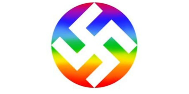 rainbow swastika of peace clothing line pulled from shelves