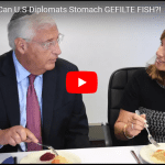US Diplomats Try Rosh Hashana Foods for First Time – Results Are Too Funny!