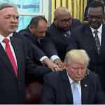 President Trump Turns to Church and Prayer in Wake of Hurricane Harvey [VIDEO]