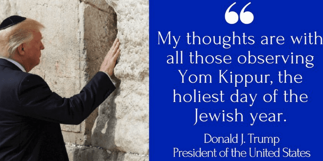 Trump and pence send yom kippur wishes to be written in the book of trump and pence send yom kippur wishes to be written in the book of life m4hsunfo
