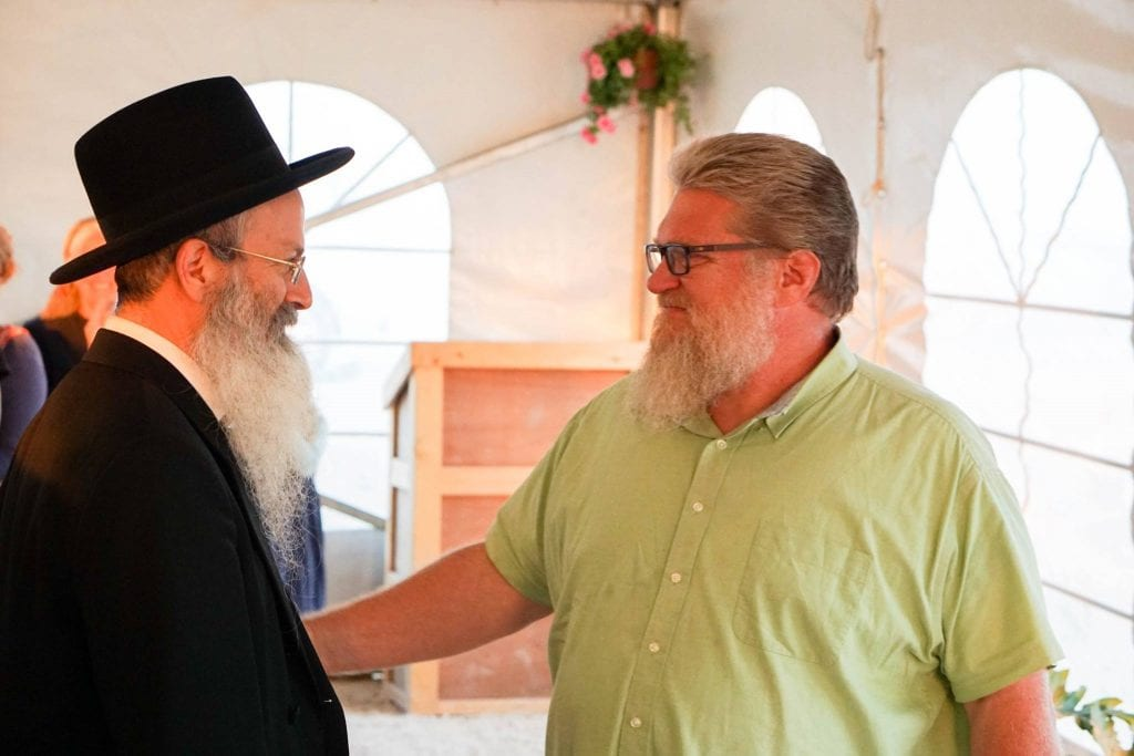 Image result for tommy waller and rabbi melamed
