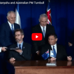 """Collaboration Between Israel, Australia """"At its Height"""": PM Turnbull in Jerusalem"""