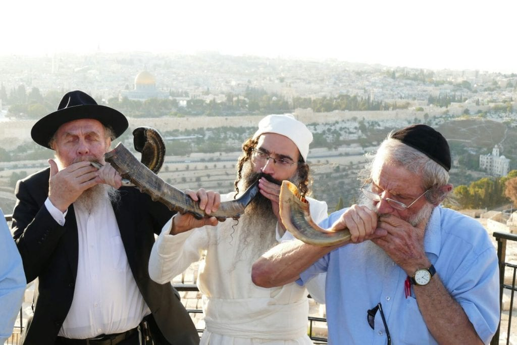 Types Of Ram >> WATCH: Sanhedrin Performs Temple Blowing of Shofars and Silver Trumpets For Jubilee - Breaking ...