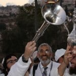 PHOTOS: Sanhedrin Revives Ancient Temple Water Libation Ritual in Shiloah Valley