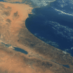 PHOTOS: US Astronaut Tweets Stunning Images of Israel From Space