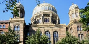 Neue Synagoge in Berlin was a target of an Iranian spy ring