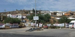 Givat Assaf outpost / Photo credit: Yaakov via Wikimedia
