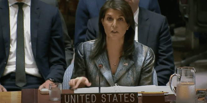 Sanhedrin Invites Nikki Haley to be Honorary President of Organization of 70 Nations