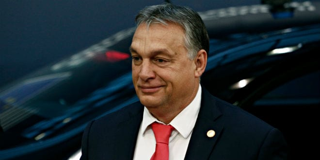 Orbán at the White House