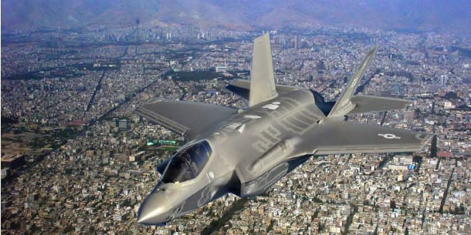 First Female Israel Pilot to Fly F-35 in Combat