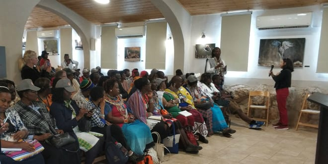 African Evangelical Leaders Tour Samaria