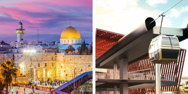 Jerusalem Cable Car to City of David Plan Submitted to Infrastructure Committee
