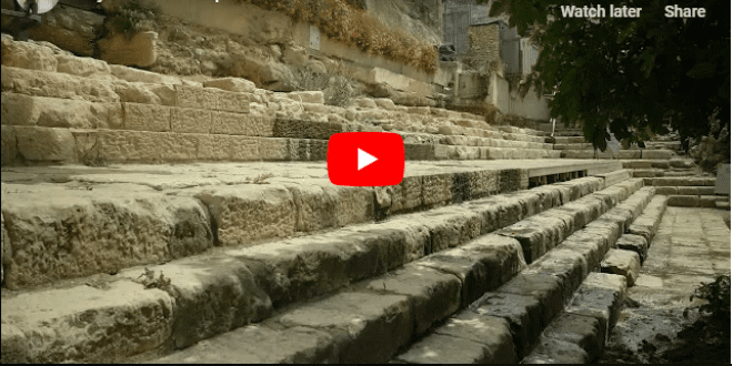 City of David Top Finds #3: Ancient Pool of Siloam