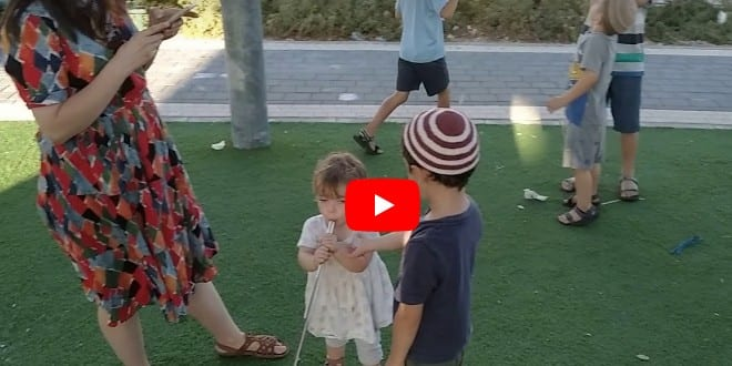 Israeli Children Prepare for 3rd Temple in New Playground Exhibition