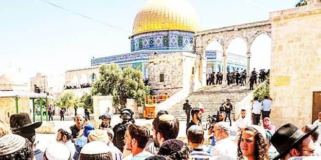 1,729 Jews entered the Temple Mount on Tisha BeAv
