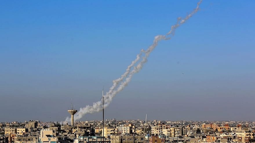 Hamas Rocket Aimed at Israel Backfires