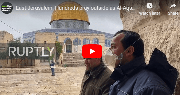 "Muslims in Al-Aksa Caught Admitting: Jews Would Turn Temple Mount into ""Heaven"""