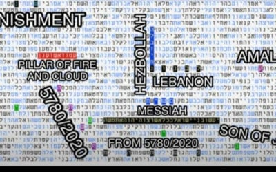 "Torah Codes: Beirut Explosion was ""Pillar of Fire and Smoke"" Protecting Israel"