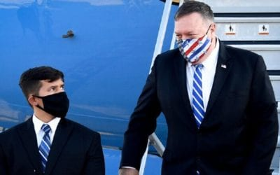 Pompeo makes History Taking first Direct Flight from Israel to Sudan