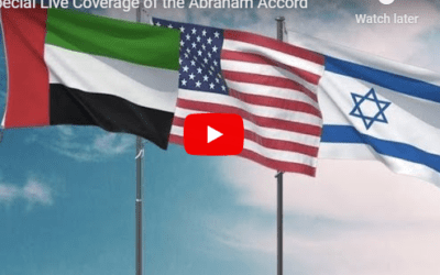 LIVE COVERAGE OF THE ABRAHAM ACCORDS SIGNING WITH US AMBASSADOR MICHAEL OREN AND ISRAEL365 NEWS TEAM