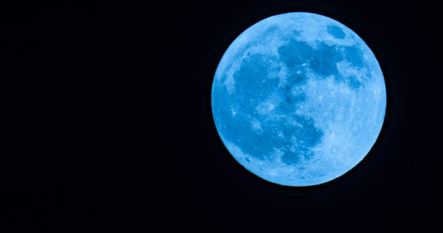 'Blue Moon' to appear on Halloween Signaling End of Paganism on Eve of Election