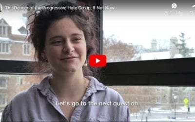 Video Journalist Exposes Radical Leftist Anti-Israel Jewish Group That Supports Terrorists