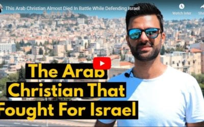 This Arab Christian Almost Died In Battle While Defending Israel