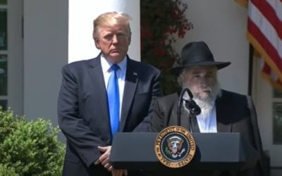 America's Most Prominent Orthodox Rabbis Bless Trump with win against Biden