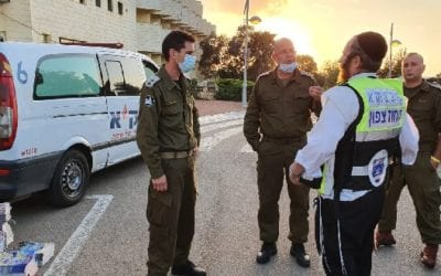 Five Life-Saving Services ZAKA provides During Israel's Covid Crisis