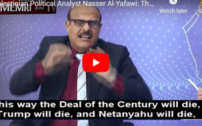 """UN Backed PA Education Minister: """"Jews Make Matzoh With Blood of Gentiles"""""""